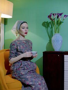 Garage Magazine of Russian designer and fashion it-girl Ulyana Sergeenko
