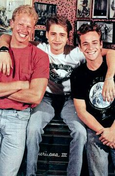 Steve, Brandon and Dylan - Beverly Hills 90210