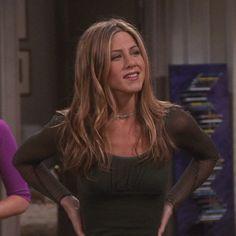 Jennifer Aniston Quotes, Jennifer Aniston Hair, Rachel Green Style, Rachel Green Outfits, Friends Moments, Friends Tv Show, Lexie Grey, Friend Outfits, Celebs