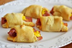 Life as a Lofthouse (Food Blog): Ham, Egg & Cheese Crescent Rolls