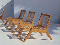 Teak garden armchair SYNTHESIS | Garden armchair