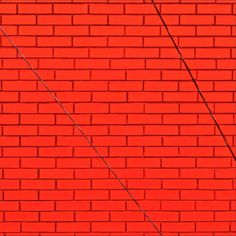 Brick..stabilizing cable. #color #red #brick #minnesota #minimal #rsa_minimal #stillwatermn #captureminnesota #art