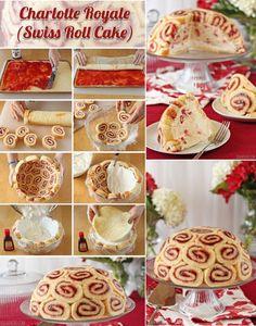 TORT KRÓLEWSKI z ROLADEK ♥♥♥ Robiłyście już?