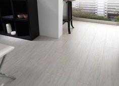 helles laminatboden modernes design Porcelanosa weiß töne