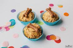Geburtstagsmuffins//Hunderezept von Herrchen kocht www.herrchenkocht.de