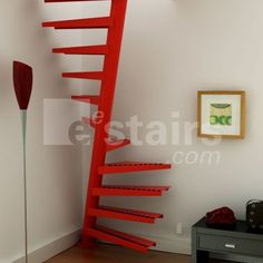 Spiral stairs steel