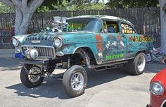 55 Chevy Rat Gasser