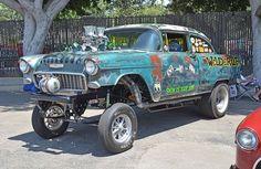 55 Chevy Rat Gasser