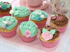cupcakes | Cupcakes con buttercream de nutella