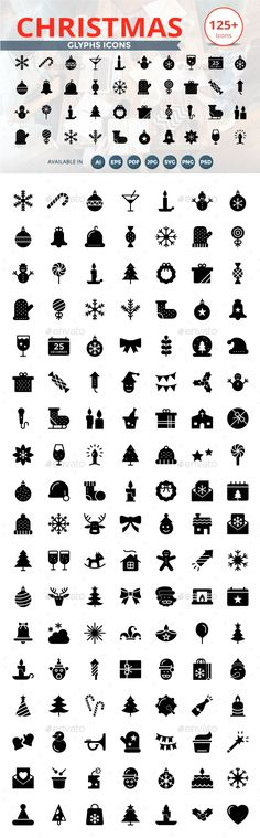 Web Design & Development Glyphs icon
