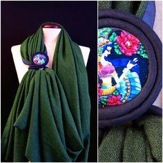Gianmarco Russo - stola gioiello - limited edition - cachemire e seta - Made in italy
