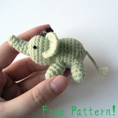 Percy The Elephant Amigurumi Pattern Crochet pattern, a fun toy project! Find this FREE pattern and more inspiration at LoveCrochet. Crochet Amigurumi Free Patterns, Crochet Dolls, Crochet Baby, Free Crochet, Knitting Patterns, Crochet Elephant Pattern Free, Ravelry Crochet, Crochet Crafts, Crochet Projects