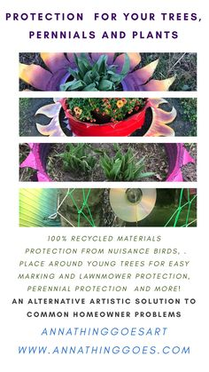 A variety of products that can protect your trees from nuisance birds to tree markers, perennial markers, and planters
