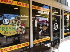 The Kebab Shop window graphics