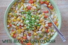 White Bean and Corn Chowder | 5DollarDinners.com