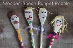 DIY Puppets {babycenter} #earlychildhood #diy