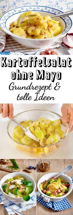 Zum #Grillen, für die #Party oder einfach so - #Kartoffelsalat ohne Mayo schmeckt immer!