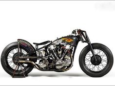 Knucklehead | Bobber Inspiration - Bobbers and Custom Motorcycles | the-ghost-darkness August 2014