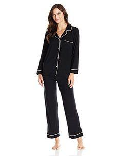 2ef322adf721 Find Eberjey Women s Gisele Two-Piece Long Sleeve   Pant Pajama Sleepwear  Set online. Shop the latest collection of Eberjey Women s Gisele Two-Piece  Long ...