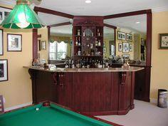 corner bar design