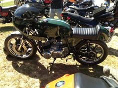 Cafe racer at IMOC rally
