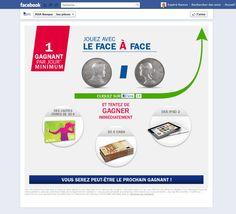 'ai reçu il y a peu de jours un mail de ma banque Axa Banque. Elle est sur Facebook. Elle a sa page. Ou plutôt ses pages Facebook, car je vois bien qu'elle a développé carrément un site sur Facebook. Il y a en plus de la timeline plusieurs pages. Et bien entendu un concours avec des lots à gagner.