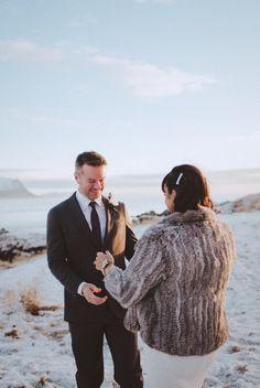 vintage elegance, a true romance + a little black church in western iceland // snæfellsnes peninsula destination wedding // teri b photography