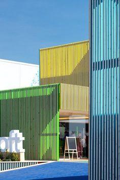 Enraiza – el color en la arquitectura