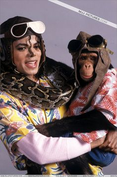 Sweet Michael and Bubbles