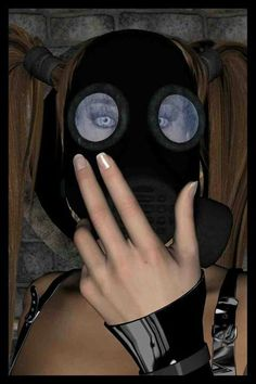 Gas mask fun