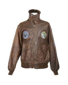Brown Leather Flight Jacket | Jackets & Coats | Rokit Vintage Clothing
