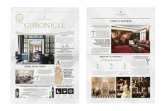 The Maybourne Papers by Chloe Galea, via Behance
