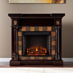 51 best home is where the electric fireplace is images electric rh pinterest com