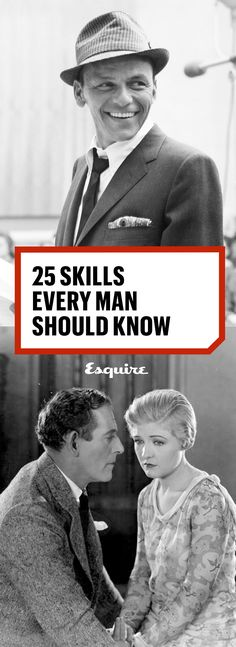 25 Skills Every Man Should Know