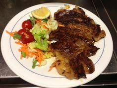 #Bistecca di manzo alla griglia #meat
