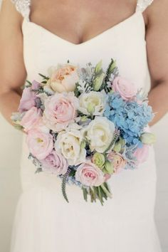 Blue and Blush