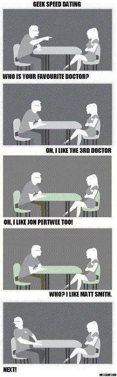 he's 11th Doctor