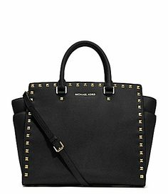 Best Christmas Present EVER!! Can't wait to get my bag!!!  MICHAEL Michael Kors Selma Stud Tote