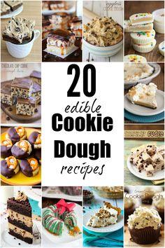 20 Crazy Good Edible Cookie Dough Recipes