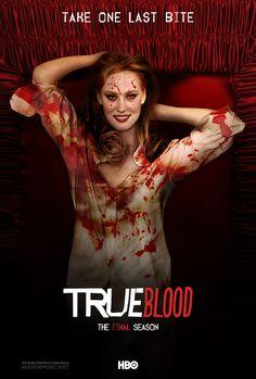 True Blood Art   True Blood - The Final Season Poster (Jessica) by emreunayli