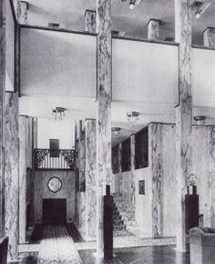 Josef Hoffmann Residential Interiors | Decoration As Composition