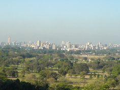 The skyline of Maracay, Venezuela