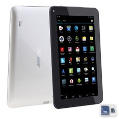 AGPtek (4GB Storage + 8GB TF Card) Android 4.2 Quad-core 5 Point Capacitive Screen HDMI WIFI Tablet PC, 1024*600...