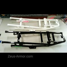 ZeusArmor Steel tubular subframes for 03-05 Yamaha YZF-R6 and 06-Up R6S #zeusarmor #dowork #yamaha #r6s #stunt