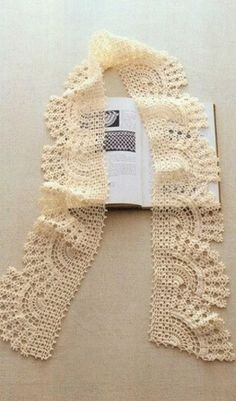Similar to Delicate Fans Shawlette, but this one stay the same width throughout. Charted!