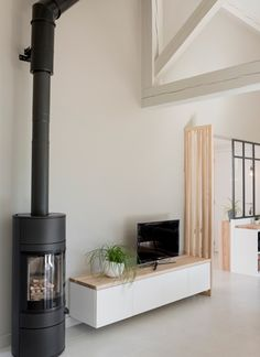 Un bol d'air Home Appliances, Future House, Renovation D, House, Interior, Home, Deco, New Homes, Wood Stove