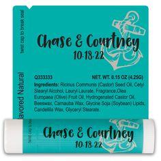 TLB2238 - Wedding Lip Balm Template 2238 #wedding #weddingfavor