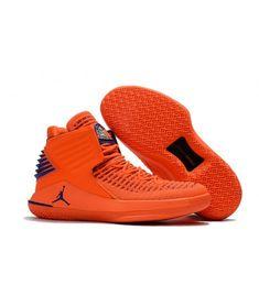 Air Jordan 32 PE Media Day Orange Blue Basketball Shoe For Sale Big Boys Youth/Jeunesse Shoes Jordan Shoes For Sale, Cheap Jordan Shoes, Air Jordan Shoes, Cheap Shoes, Orange Shoes, Blue Shoes, Jordans Girls, Air Jordans, Shoes Jordans
