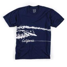Cali Tee (Navy)