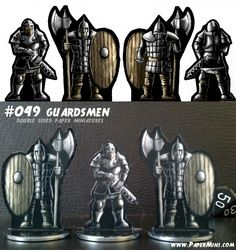 Jumping Jacks, Dungeons And Dragons, Minis, Bookends, Medieval, Miniatures, Character, Design, Rpg